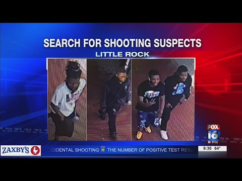 Watch: Multiple shots fired at Spanish Jones Apartments in Little Rock, police searching for suspects
