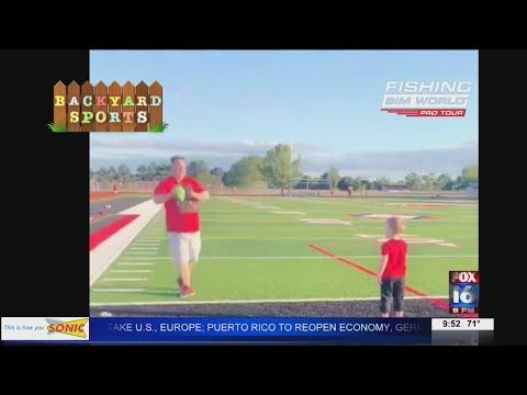 Watch: Backyard Sports: 4-year-old football star
