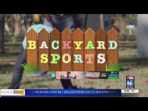 Watch: Backyard Sports: NLRHS students not letting COVID-19 stop them