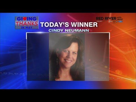 Watch: Giving Thanks: Cindy Neumann