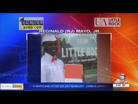 Watch: Senior Send-Off: Reginald Mayo, Jr.