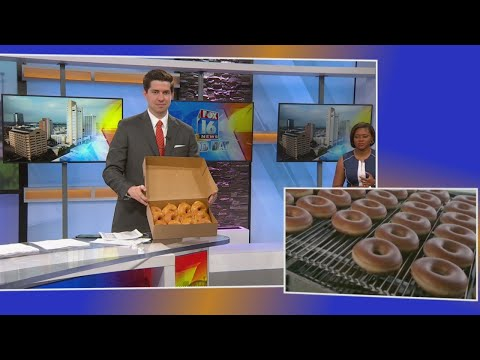 Watch: National Donut Day