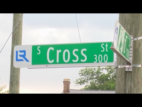 Watch: Victim identified, suspect arrested in connection to 2nd and Cross Street murder Friday night
