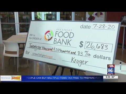 Watch: $26k+ raised in 'Zero Hunger, Zero Waste' Campaign for Arkansas Foodbank