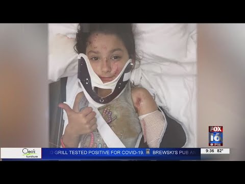 Watch: 6-year-old girl jumps into action saving family in UTV accident