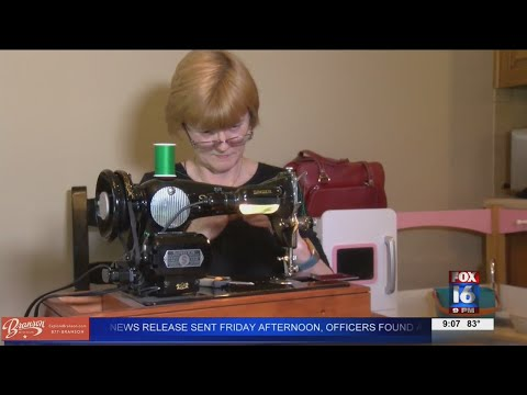Watch: Arkansas nurse makes 1,000 masks; donates profit to people dealing with COVID-19