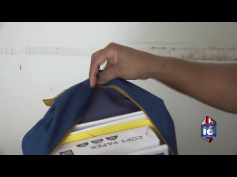 Watch: Non-profit filling backpacks for kids in the foster care system