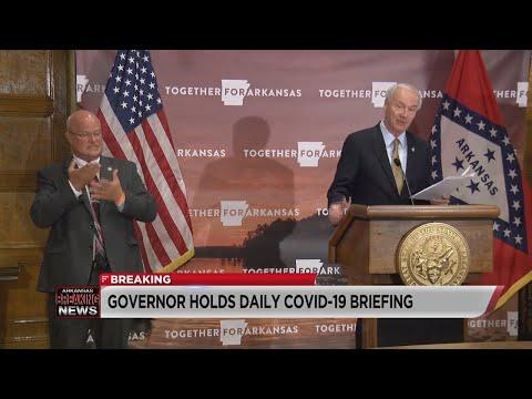Watch: Arkansas COVID-19 Update (August 5, 2020)