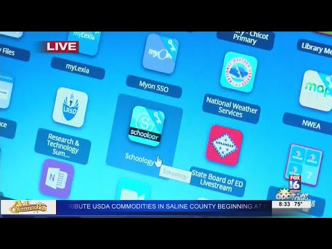Watch: Chicot Elementary School Virtual Learning