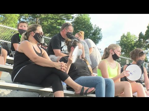 Watch: High School football games and COVID