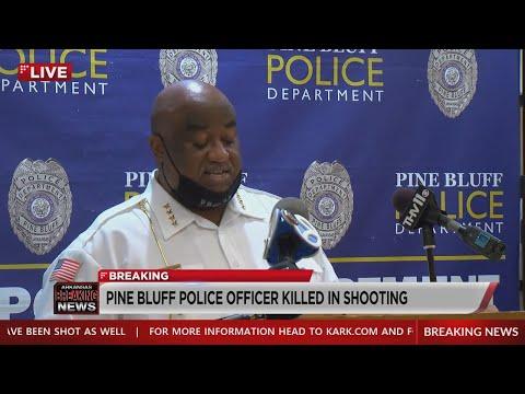 Watch: Arkansas officer dies after shooting in Pine Bluff
