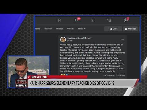 Watch: BREAKING: Harrisburg Elementary teacher dies from COVID-19