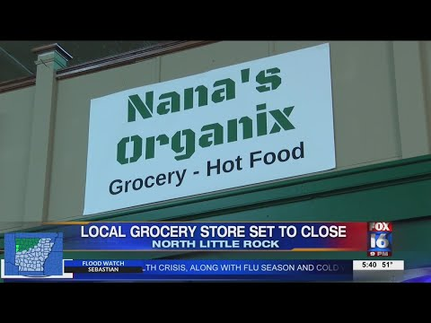 Watch: NLR Grocery Store closes during pandemic due to outdoor dining events