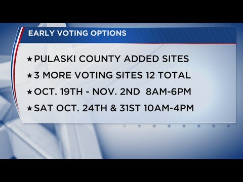 Watch: New voting info