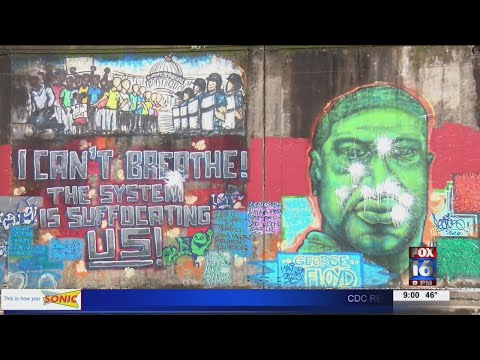 Watch: 7th Street Murals Damaged after Latest Vandalism