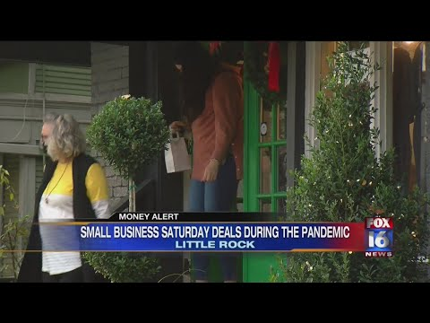 Watch: Little Rock Businesses Celebrate Small Business Saturday
