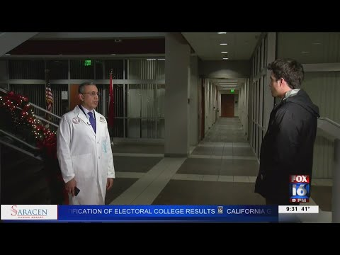 Watch: Arkansas doctor wipes away cancer patients' bills totaling $650,000