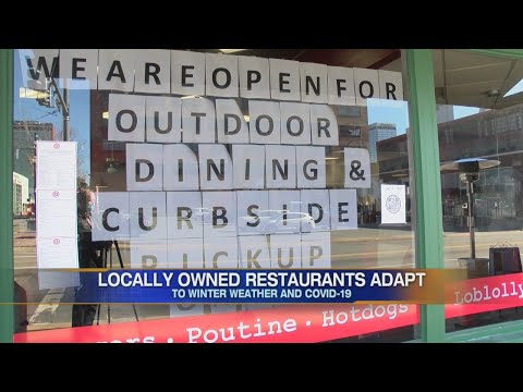 Watch: Little Rock restaurants adapting to COVID-19 restrictions for the winter.