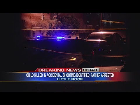 Watch: Police identify 2-year-old killed in Little Rock 'accidental shooting,' arrest girl's father