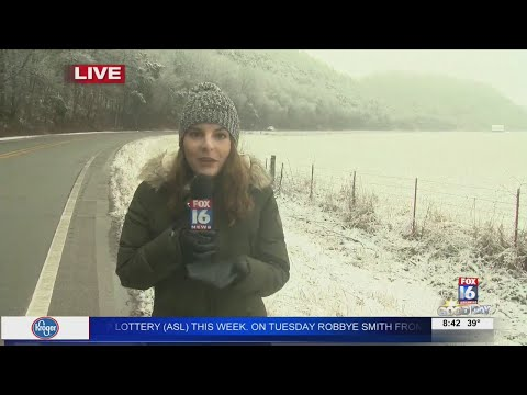Watch: Caitrin Assaf takes a look at northern Arkansas winter weather