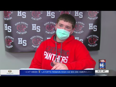 Watch: Heber Springs teen saves grandfathers life