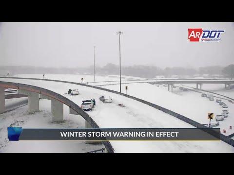 Watch: Abbreviated: Good Samaritans help driver stuck in snow