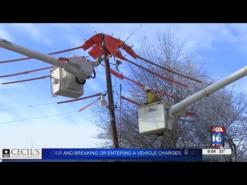 Watch: Energy Providers Prepare for Winter Weather