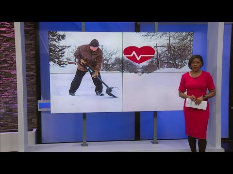 Watch: Impact shoveling snow could have on your health