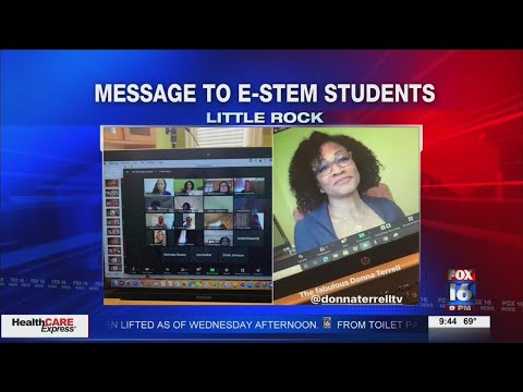 Watch: Professionals across the country speak to eStem High School students Wednesday
