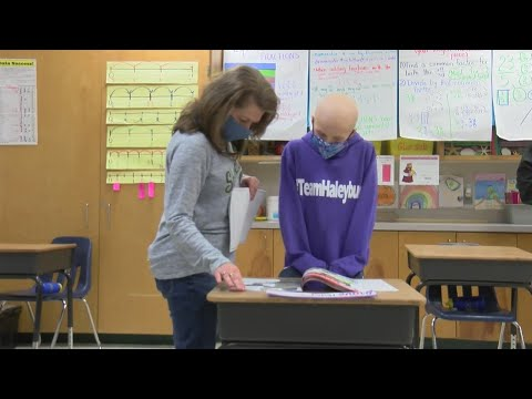 Watch: Sheridan 4th grader diagnosed with rare cancer