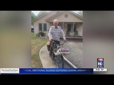 Watch: Brinkley community remembers Bicycle Charlie