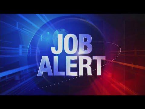 Watch: Job Alert: Hiring events, openings education, business