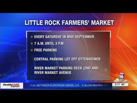 Watch: Little Rock Farmers' Market begins Saturday