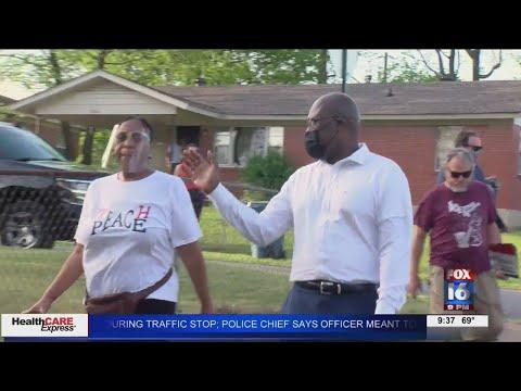 Watch: Mayor Frank Scott jr. holds second 'Scott Strolls'