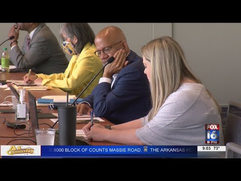 Watch: Mayor's Sales Tax, city violence discussed at Little Rock board meeting