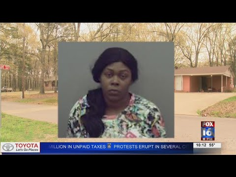 Watch: Pine Bluff mother accused of killing her 15-year-old son