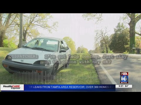 Watch: Saline County paper delivery woman driven off road