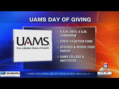 Watch: UAMS Day of Giving