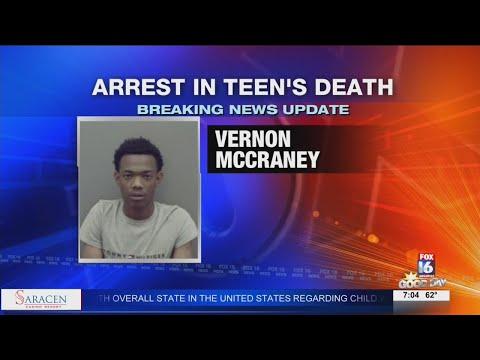 Watch: Arrest in Death of Pine Bluff Teen
