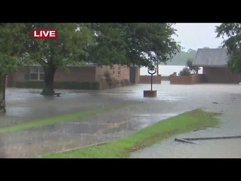 Watch: Dumas still recovering from flooding