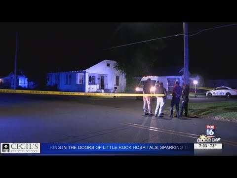 Watch: Early morning shooting leaves one dead in North Little Rock