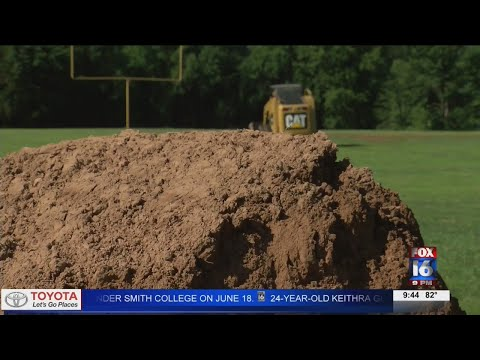 Watch: Pottsville community working on repairs after pee-wee football field destroyed