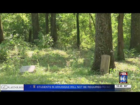 Watch: Abandoned Benton cemetery damaged by ATVs