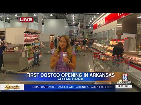Watch: Costco opens in west Little Rock