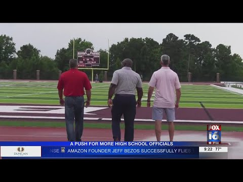Watch: FLAG ON THE PLAY: As Arkansas high schoolers prepare for football, refs recruit new whistle-blowers