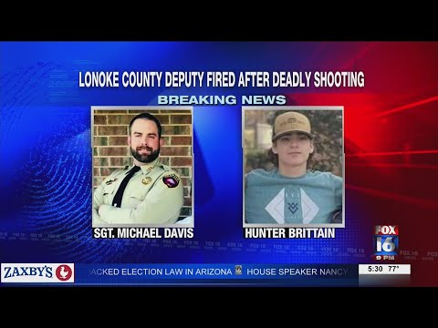 Watch: HUNTER BRITTAIN DEPUTY FIRED 530