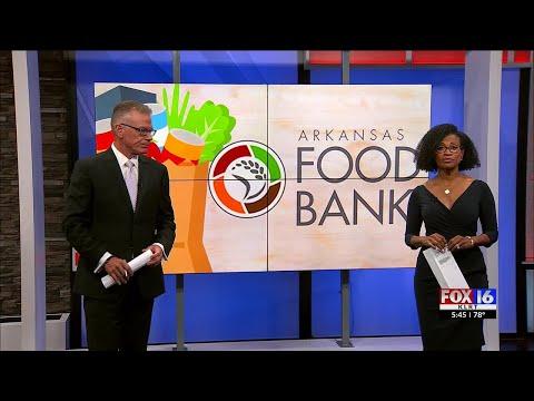 Watch: Arkansas Foodbank working hard to address hunger in Arkansas