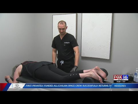 Watch: No more opioids: Little Rock chiropractor uses acupuncture to relieve pain of scoliosis patient