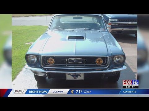 Watch: Stolen 1968 Mustang found in Mississippi, returned to owner in Cabot